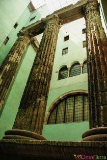 Barcelone-Barri-Gotic-Temple-Auguste