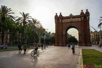 Barcelone-Parc-de-la-Citadele-Arc-de-triomphe