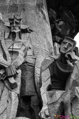 Barcelone-Sagrada-Família-Facade-de-la-Passion-Détail