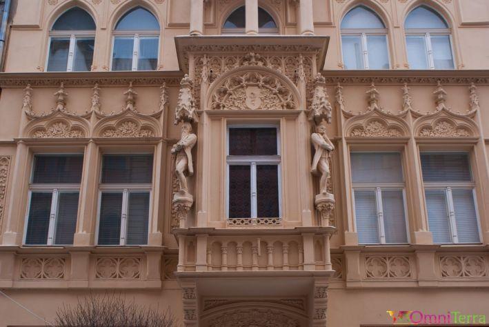 Kutna-Hora-Batiment-baroque-Détail