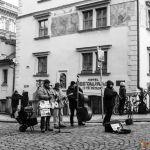 Prague - Mala Strana - Musiciens
