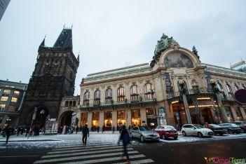 Prague - Stare Mesto - Tour poudrière et Maison municipale