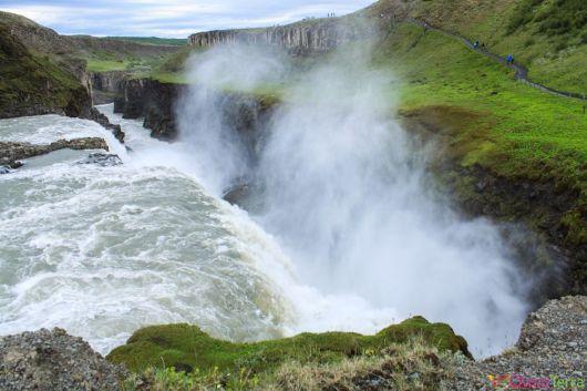Islande - Gullfoss - Cascade
