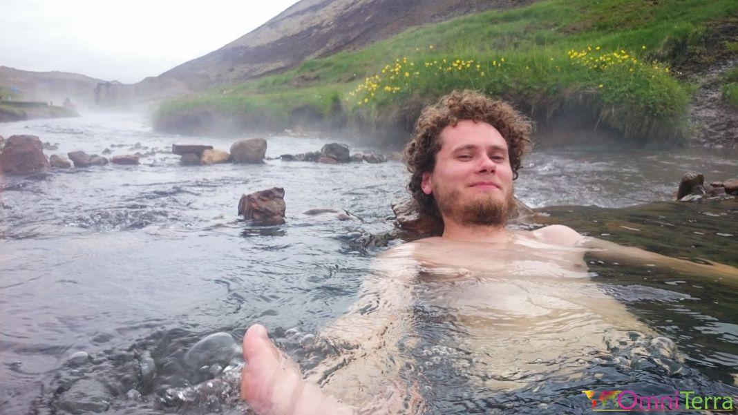 Islande - Hveragerdi- Source chaude - Bain