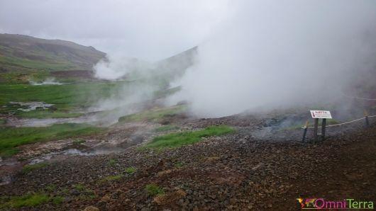 Islande - Hveragerdi- Source chaude