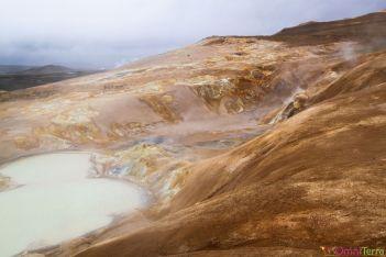 Islande - Krafla - hot spot