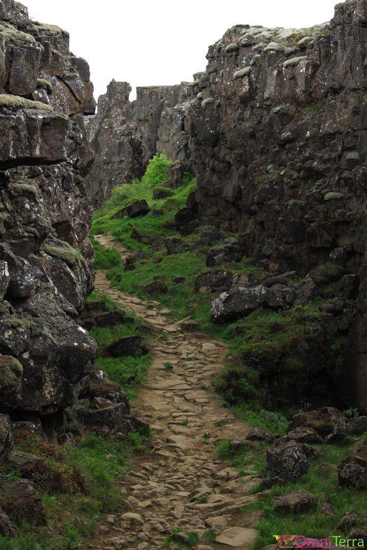 Islande - Thingvellir - Faille