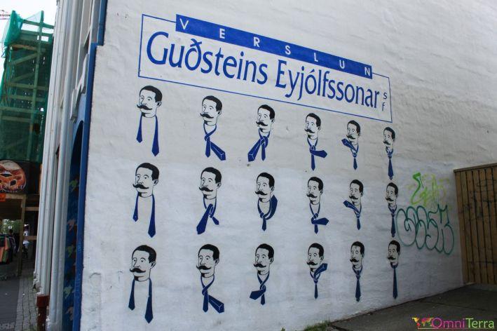 Islande - Reykjavik - Murale