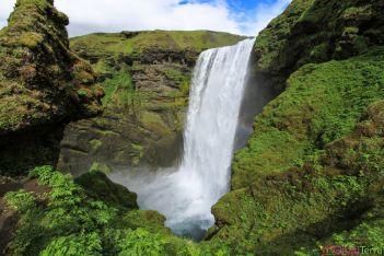 Islande - Skogafoss - Cascade