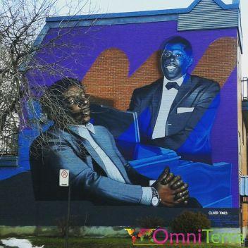 Montreal Street-Art - Mural Jazzmen