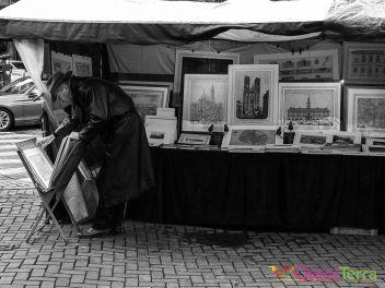 Bruxelles - Sablon - Marché des antiquaires