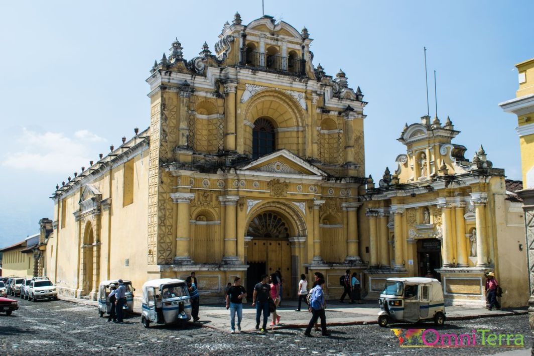 Guatemala - Antigua - Église Sta Clara