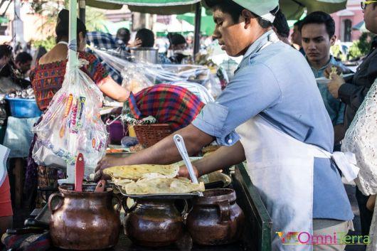 Guatemala - Antigua - Cuisine de rue