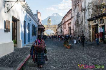 Guatemala - Antigua - rue