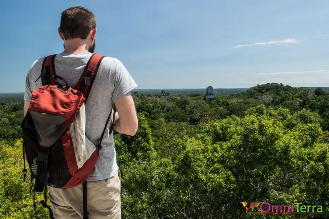 Guatemala - Tikal- panorama