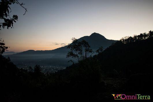 Guatemala - Volcan Santa Maria- lever de soleil