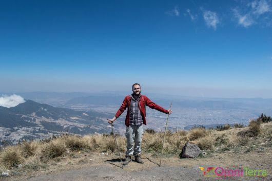 Guatemala - Volcan Santa Maria - sommet
