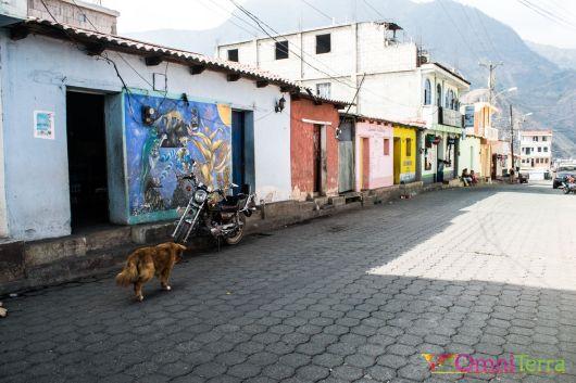 Guatemala - Atitlan - San Juan- rue