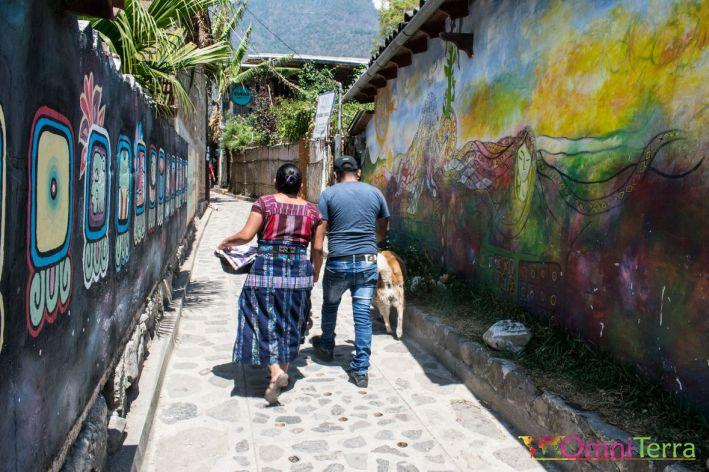 Guatemala - Atitlan - San Marco-rue