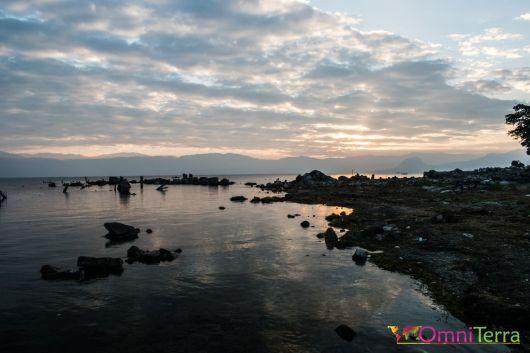 Guatemala - Atitlan - San Pedro- lever de soleil (4)