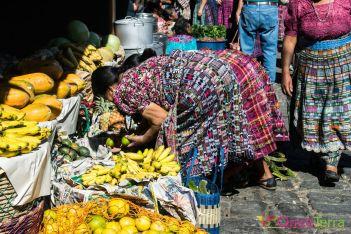 Guatemala - Atitlan - San Pedro- marché alimentaire