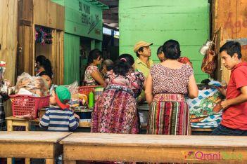 Guatemala - Atitlan - San Pedro- marché