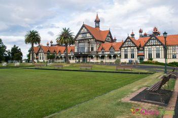 Nouvelle zelande -Rotorua - Government gardens