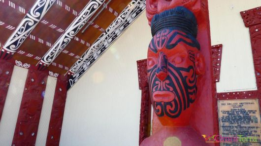 Nouvelle zelande-Rotorua-Village maori