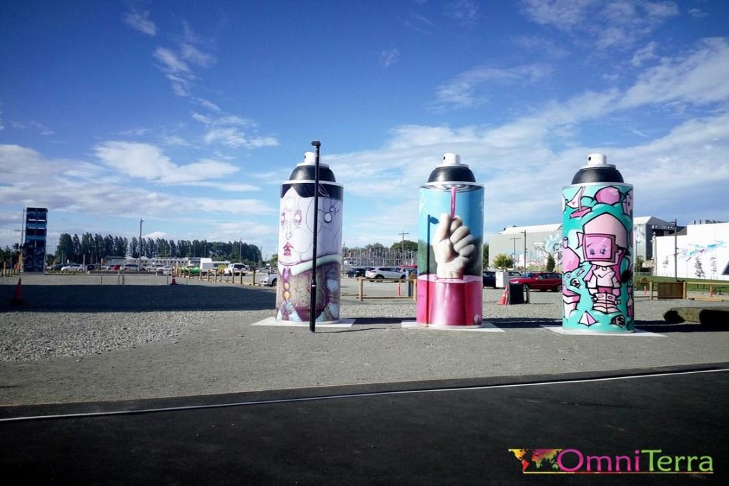 Nouvelle Zélande - Christchurch - Street art