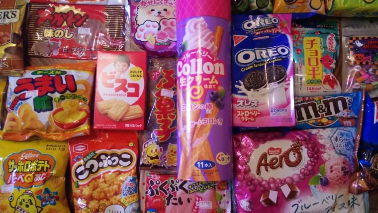 Om Nom Nomad - Japanese Snacks Galore