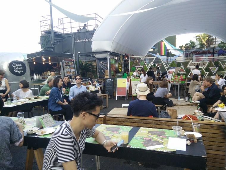 Om Nom Nomad - Commune 246 Street Food Market - Tokyo, Japan