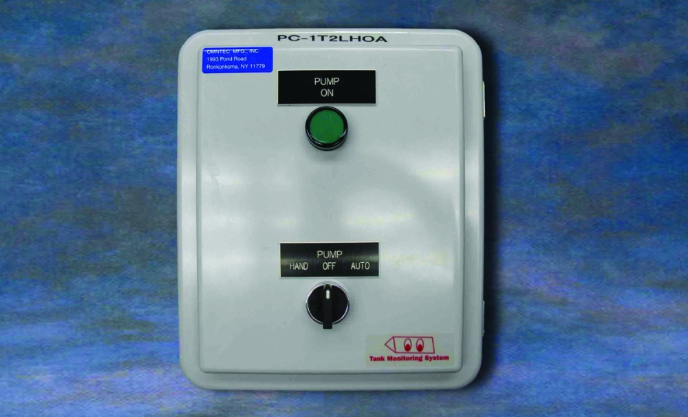 medium resolution of the pc 1t2lhoa pump control panel is designed to monitor one tank in conjunction with a two point float switch for high level and low level to control an