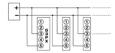 Number of G3PX Power Controller Connecting to a