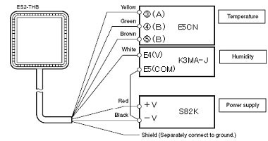 omron temperature controller wiring diagram electric door strike for es2 thb faq singapore ia e5cs controllers are marked on the plug in terminals be careful because terminal block model has different numbers