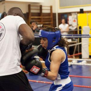Boxe comme une fille