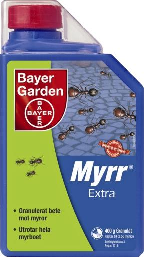 MYRMEDEL BAYER GARDEN MYRR EXTRA, 400 G