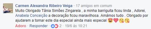 Feedback dos nossos clientes - O Mundo da Zingarela®