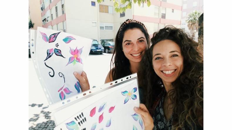 Workshop de Pinturas Faciais O Mundo da Zingarela