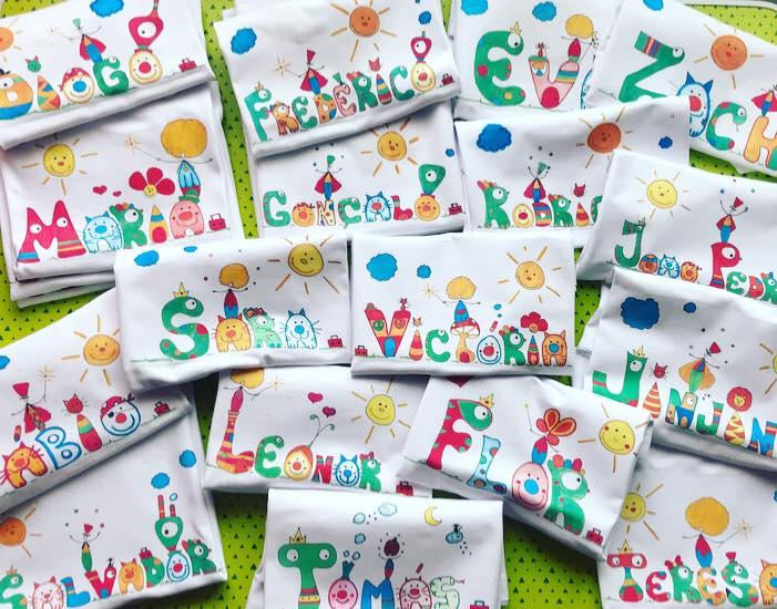 tshirts para crianças O Mundo da Zingarela