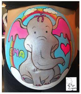 Belly Painting O Mundo da Zingarela