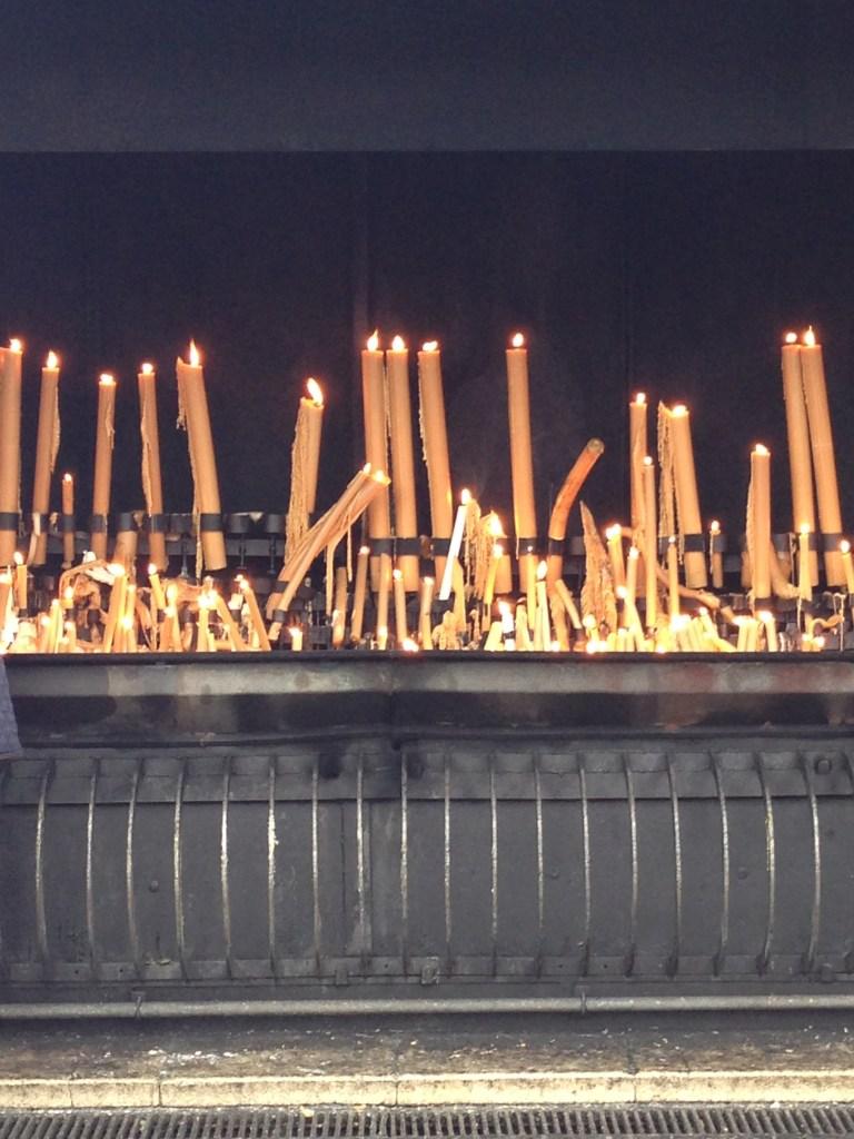 Fátima - Vela e pedidos de oração