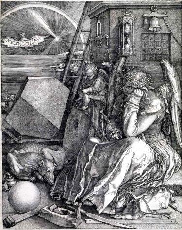 Melencolia I (ca. 1514), by Albrecht Dürer,