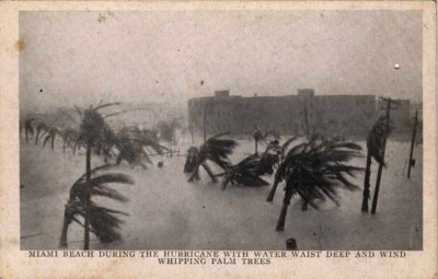 During the 1926 Hurricane