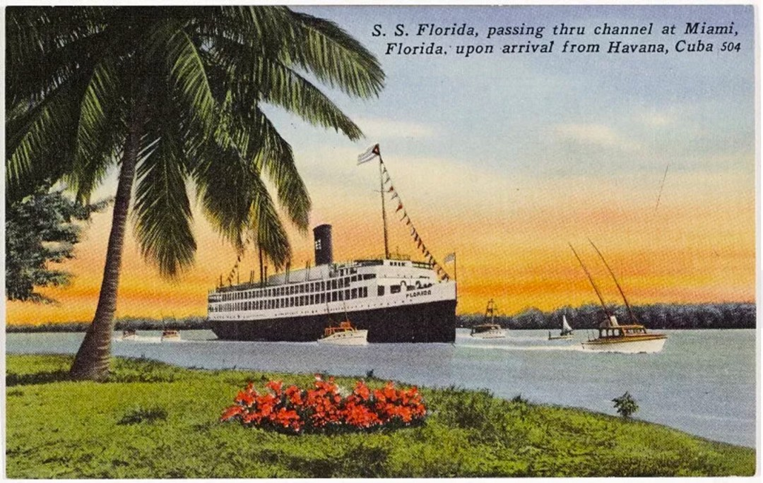 S.S. Florida Thru the Channel