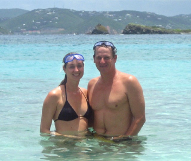 This Is Tory Lane And His Partner Sara Stevens Who Plan To Swim Around The Entire Island A 35 Mile Adventure Theyll Do It In Stages With A Leg Or Two