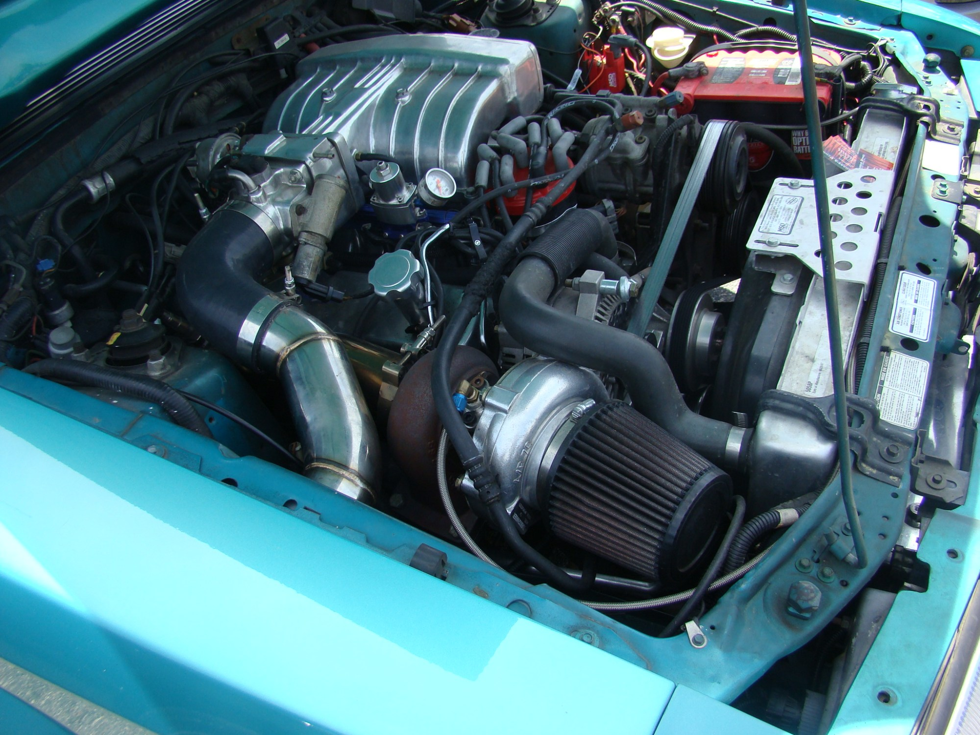 hight resolution of 1987 93 mustang gt cobra 5 0 foxbody single turbo system