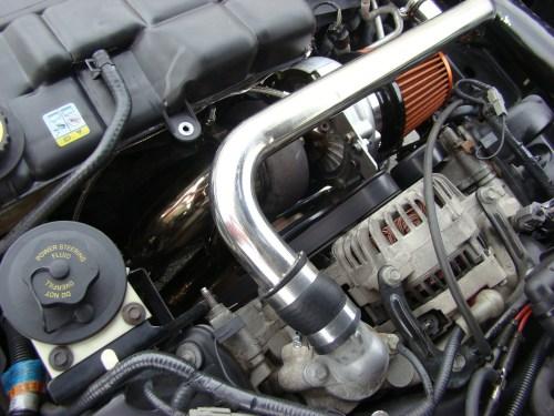 small resolution of 1996 04 mustang gt 4 6 2v forward facing turbo system