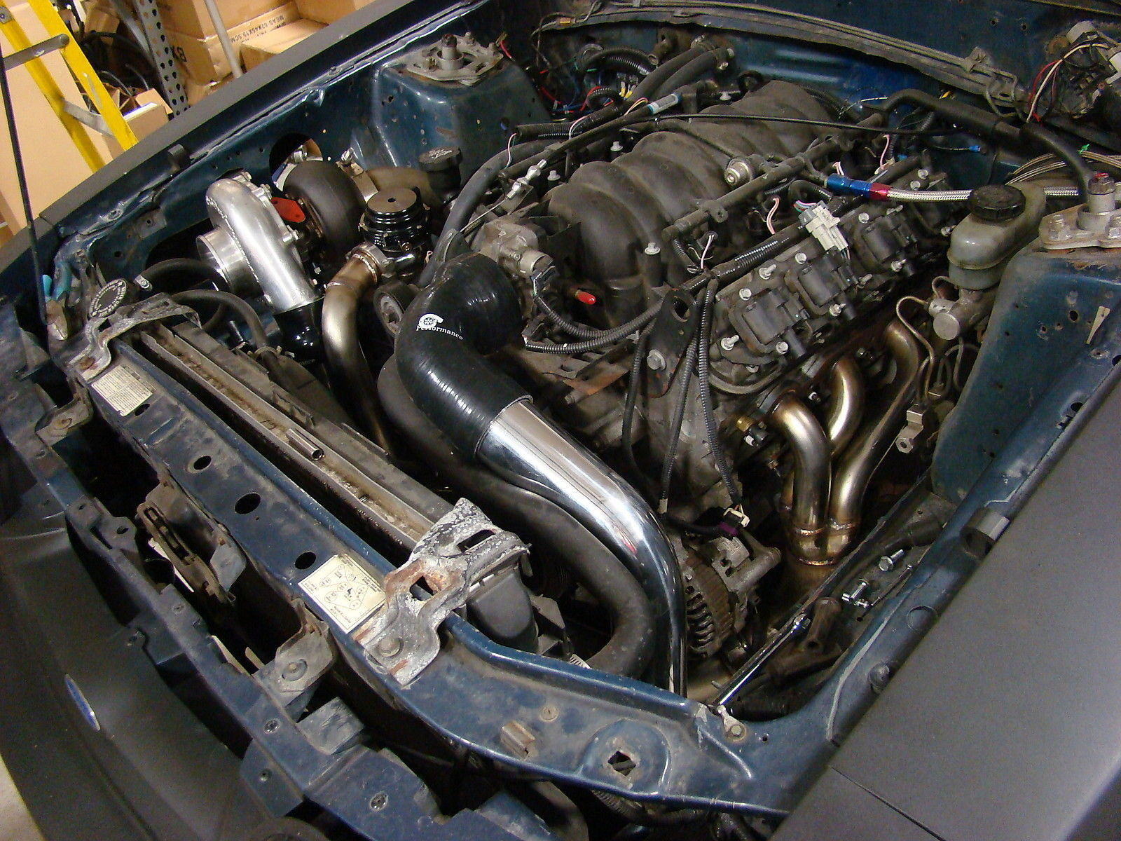 1979 Chevy Alternator Wiring Diagram 1987 1993 Mustang Lsx Swapped Foxbody Single Turbo