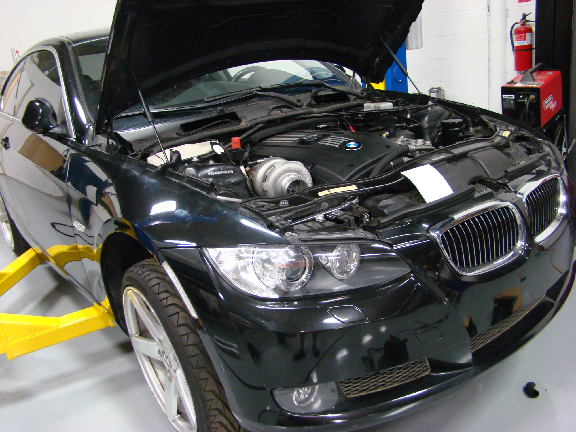 hight resolution of on 3 performance bmw 335i n54 top mount single turbo system rh on3performance com bmw 335i