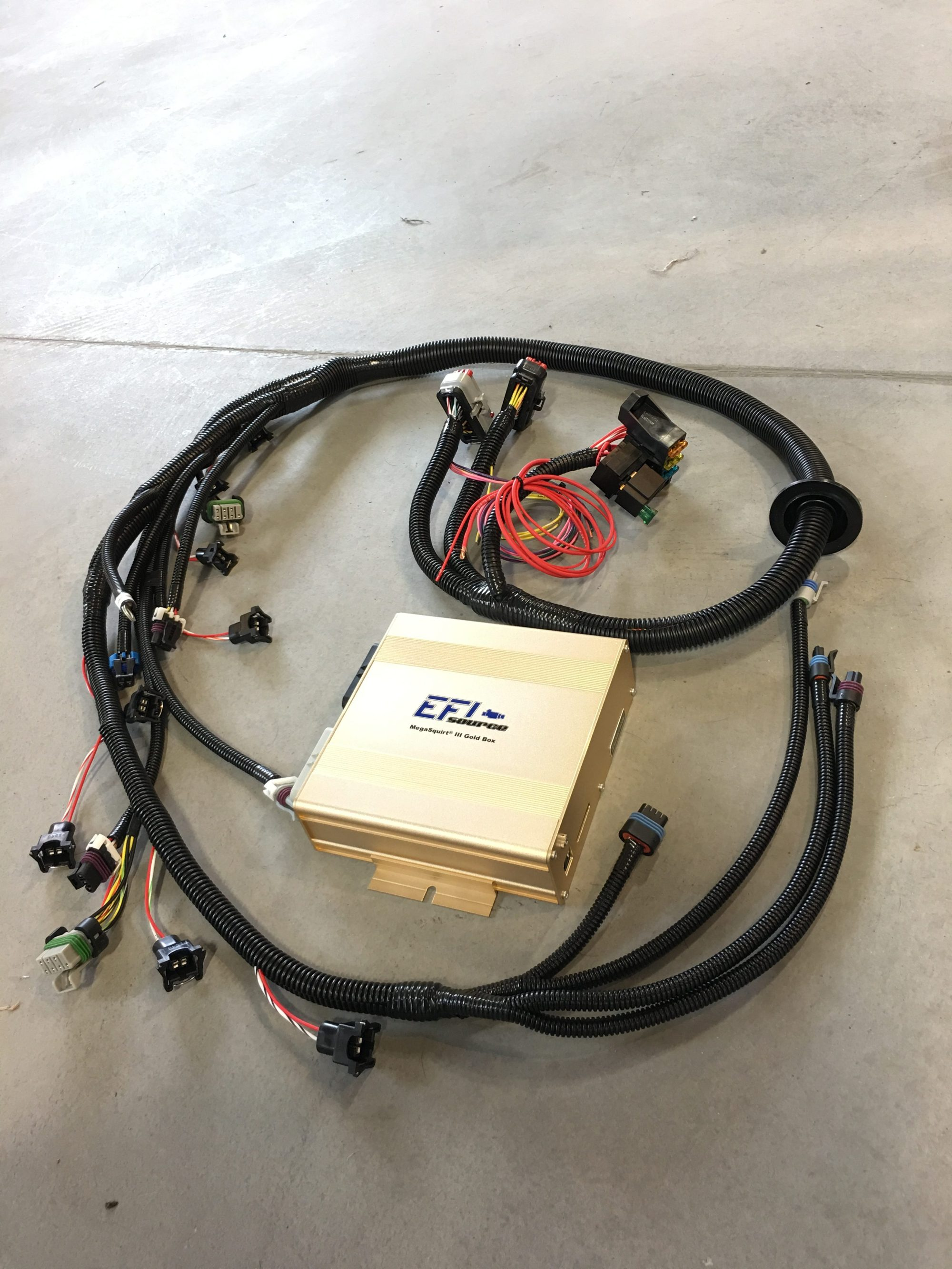 hight resolution of lsx standalone ecu w plug play engine wiring harness ms3 gold ls1 computer and wiring harness